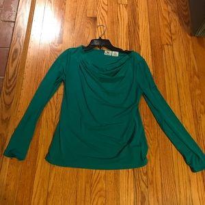 Worthington Emerald green blouse